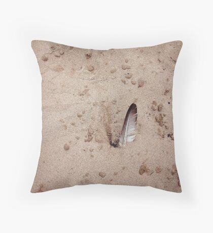 The Soft in a Hard World Throw Pillow