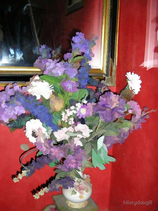 Flowers in the Hall by hilarydougill