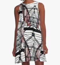 Ironwork A-Line Dress