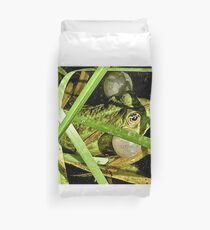 Grenouille Duvet Cover