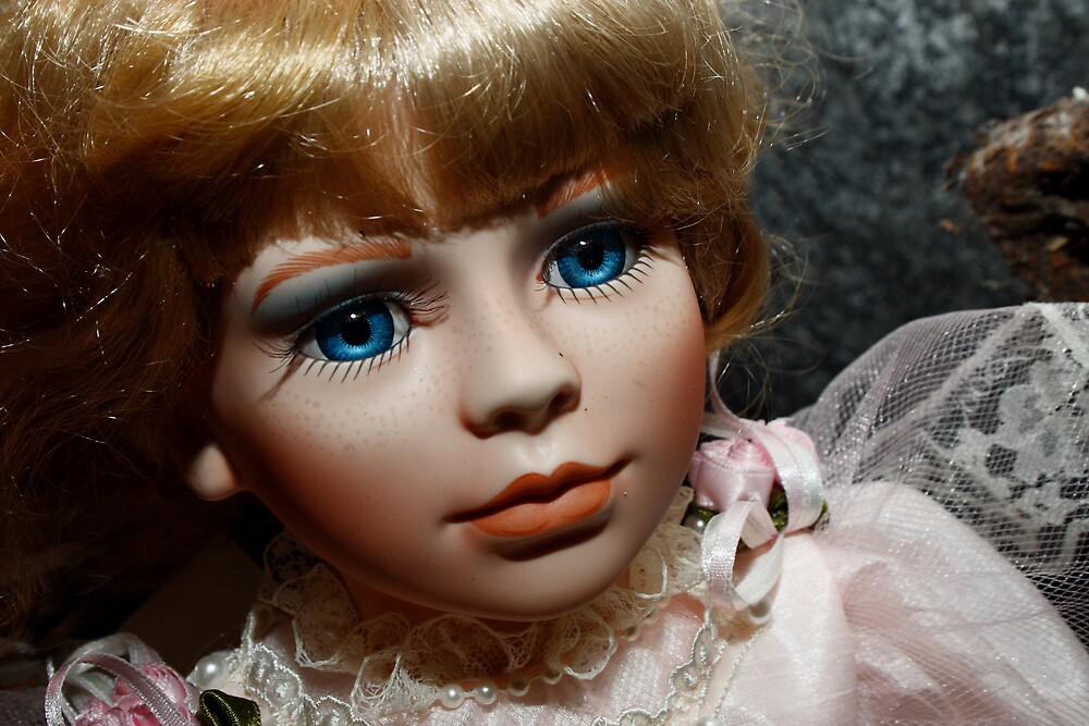 Doll Face by Adrian Richardson
