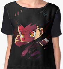 Gon Inspired Anime Shirt Chiffon Top