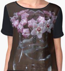 Hoya flowers bouquet Chiffon Top
