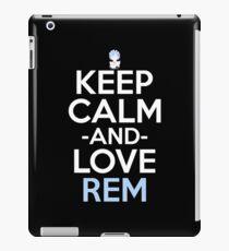 Rem Inspired Anime Shirt iPad Case/Skin
