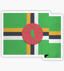 Dominica Sticker