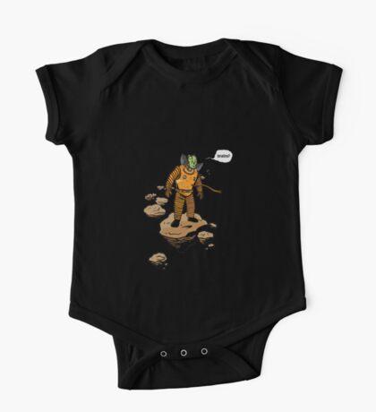 Astrozombie (no bg) Kids Clothes