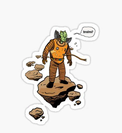 Astrozombie (no bg) Sticker