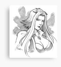 Aki Izayoi- Yugioh 5D's Canvas Print