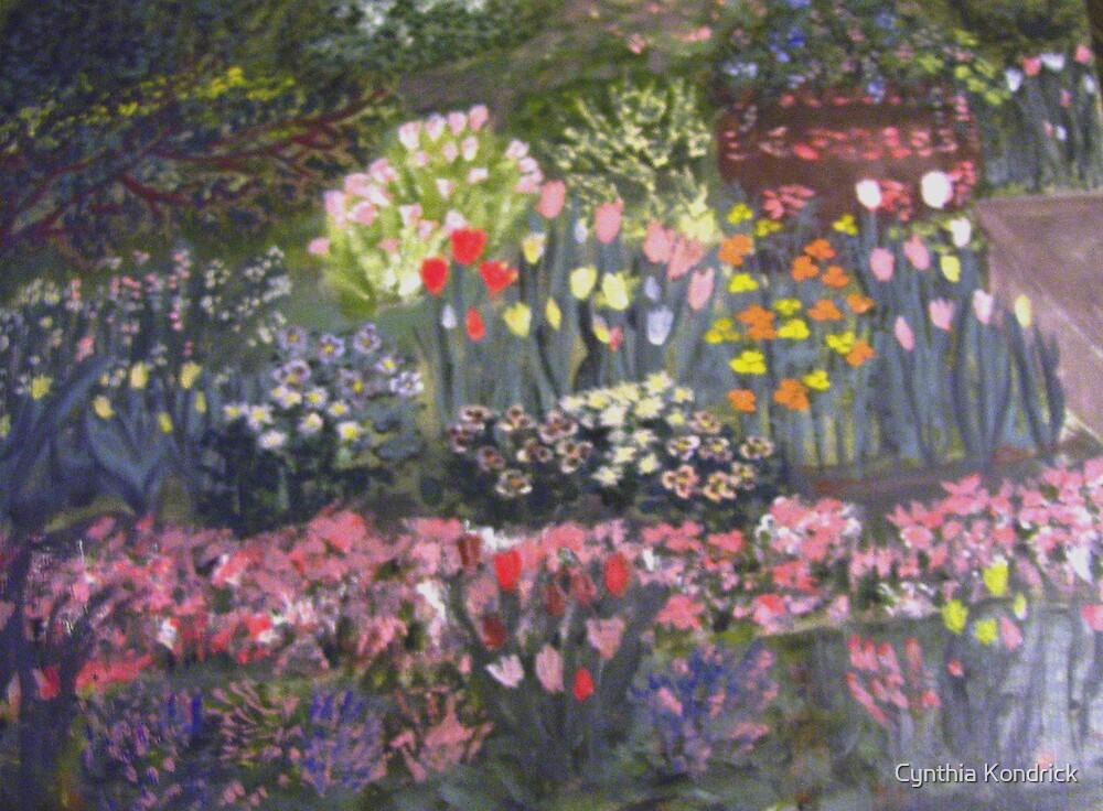 Little Flower Garden by Cynthia Kondrick