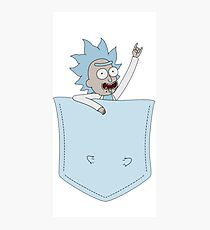 Tiny Rick - Pocket Art  Photographic Print