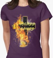WICKED GAMES Womens Fitted T-Shirt