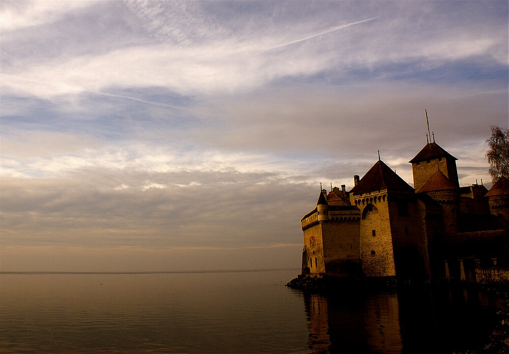 The Castle on the Lake by Kiwikiwi