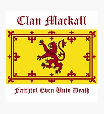Mackall - Scottish Clan Photographic Print