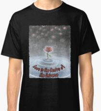 Spiritual t shirt Rose of the Universe Classic T-Shirt