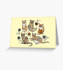 Meow Party Greeting Card
