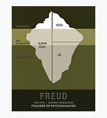 Science Posters - Sigmund Freud - Neurologist, Psychoanalyst Photographic Print