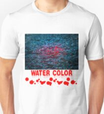 Water Color - Red Unisex T-Shirt