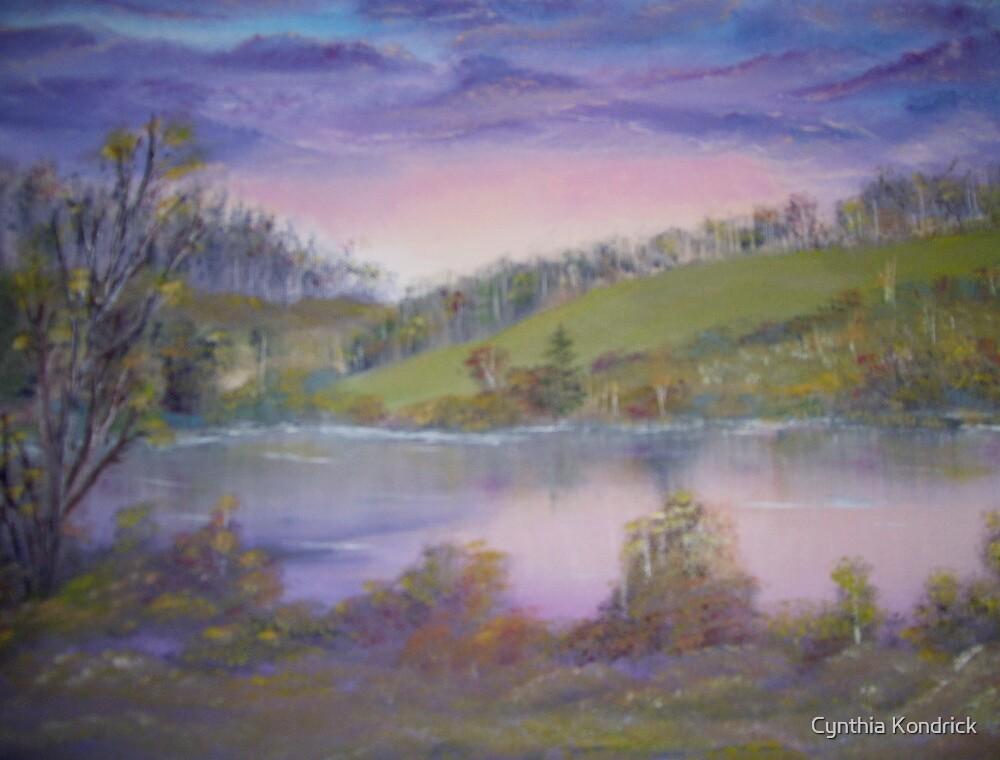 The Lake at Twilight by Cynthia Kondrick
