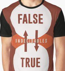 Science Posters - Kurt Godel - Mathematician, Logician Graphic T-Shirt