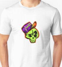 Skater Skateboarder Tee Shirts Skull Cap Skateboard T-Shirt Unisex T-Shirt