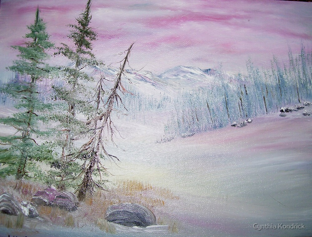 Winter in Pink by Cynthia Kondrick