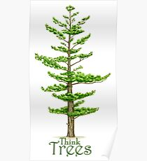 Think Trees Poster