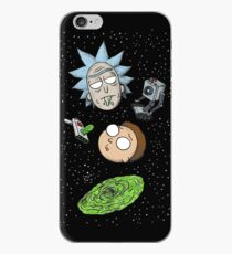 Rick and Porty Portal Heads iPhone Case