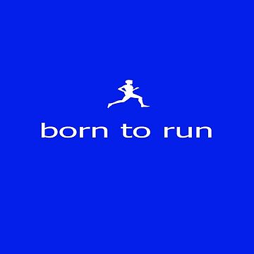 Fitness Running Born To Run - T-Shirt by deanworld