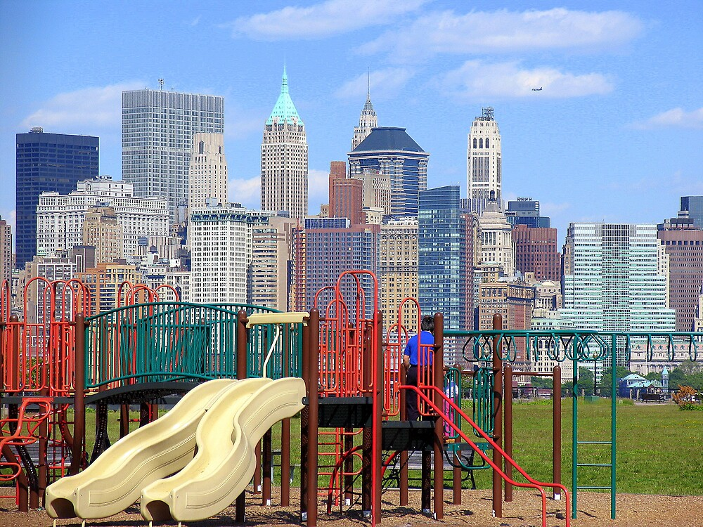 PARK WITH A VIEW OF NY by deegarra