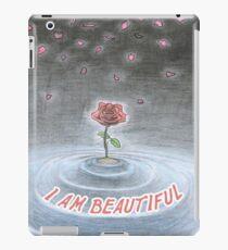 Spiritual t shirt I am beautiful - Universal Rose iPad Case/Skin