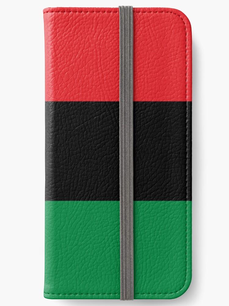 0eb0177ef Camiseta Panamericana de la bandera - Pegatina de la bandera de la UNIA -  Bandera afroamericana
