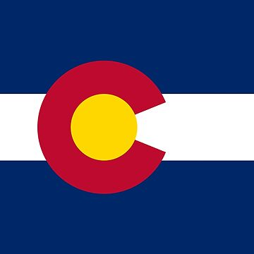 Colorado Flag Duvet Cover by deanworld