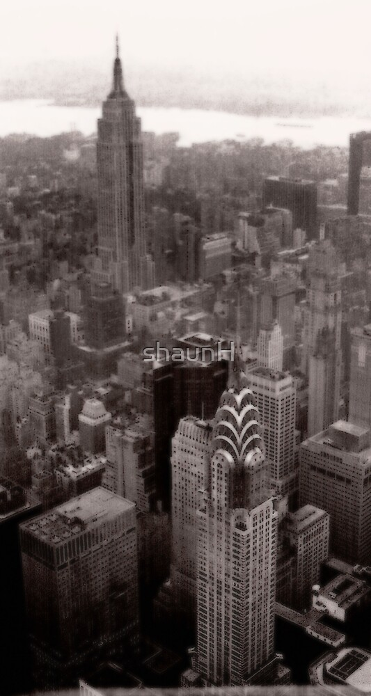 New York Skyscrapers by shaunH