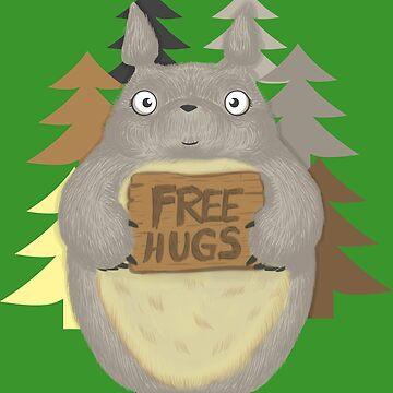 Furry Hugs by LgndryPhoenix