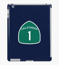 California Highway 1 T-Shirt - State Route One Road Sign Sticker PCH iPad Case/Skin