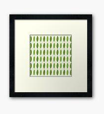 Peas in a pod Framed Print