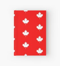 Canadian Flag - National Flag of Canada - Maple Leaf T-Shirt Sticker Hardcover Journal