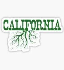 California Roots Sticker