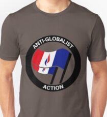 ANTI-GLOBALIST ACTION Unisex T-Shirt