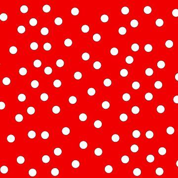 Polka Dot Bedspread by deanworld