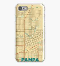 Pampa Map Retro iPhone Case/Skin