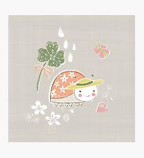 Little Miss Ladybug Ladybird by Katy Bloss Photographic Print
