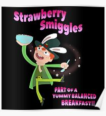 Rick & Morty - Strawberry Smiggles Poster