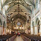 St. James church in Charlottetown, Canada. Prince Edward Island by dbvirago
