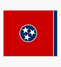 Tennessee State Flag - USA Nashville Memphis - Bedspread T-Shirt Sticker Photographic Print