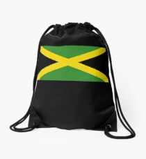 Jamaican Flag - Jamaica T-Shirt Drawstring Bag