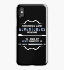 There used to be a lot of adventurers here... iPhone Case