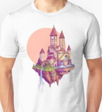 Floating Castle Unisex T-Shirt