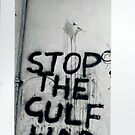 Stop the Gulf War! by MarkYoung