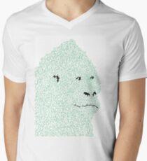 Mountain T-Shirt mit V-Ausschnitt für Männer